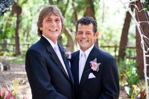 Handsome Gay Wedding Couple