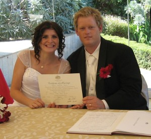 We felt completely confident having you as our celebrant and you are so easy to talk to